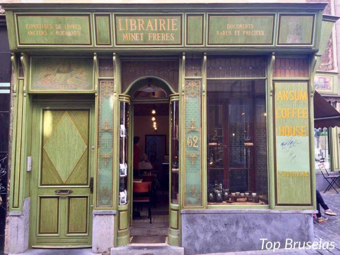 Fachada Cafe Aksum