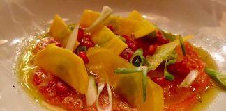 Ceviche de Salmon - Restaurante Selecto