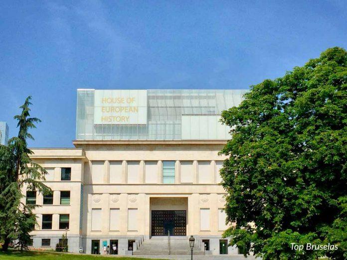Fachada de la Casa de la historia Europea