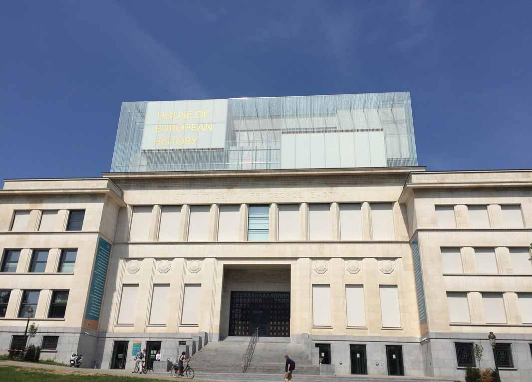Casa de la Historia Europea fachada
