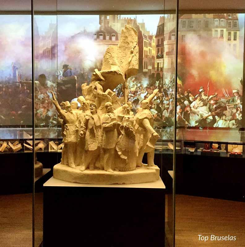 Casa de la Historia Europea escultura guerra