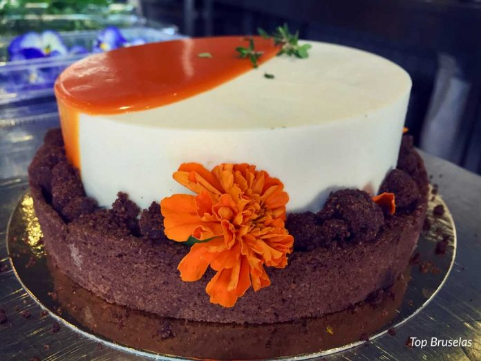 Cokoa la pastelería floral