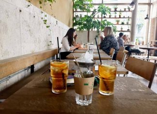 Grand Central, café moderno y cosmopolita