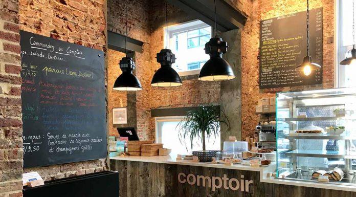 COMPTOIR RODIN, café moderno cargado de historia