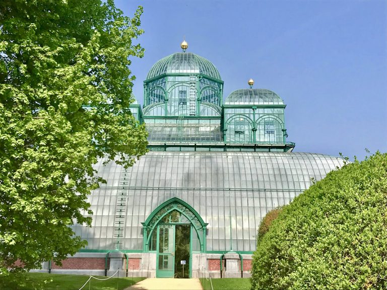Invernaderos Reales de Laeken, la realización de un sueño