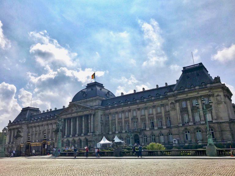 Palacio Real, símbolo de la monarquía constitucional belga