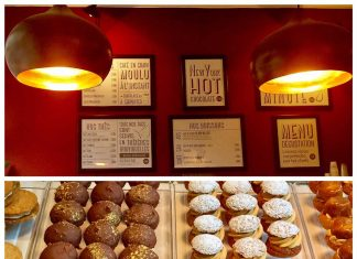 Chouconut, dulces redondos de diferentes texturas