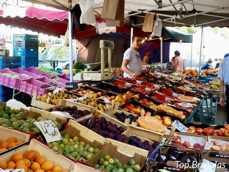 Mercado Place du Châtelain, la cita afterwork indiscutible de los miércoles