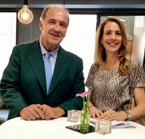 Entrevista a Pablo Alvarez, foto de Pablo con Marta