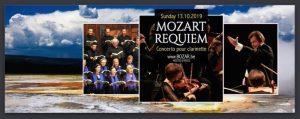 cartel concierto coros de la Unión europea