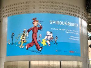 Agenda septiembre 2019 Spirou for Rights