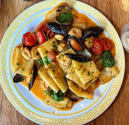 cocina comida italiana como hecha en casa