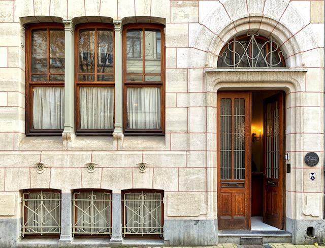 Maison Autrique, la primera casa burguesa de Victor Horta