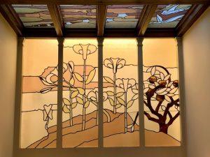 Vidriera escalera Maison Aurique