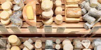 From el nuevo templo de quesos mostrador de quesos
