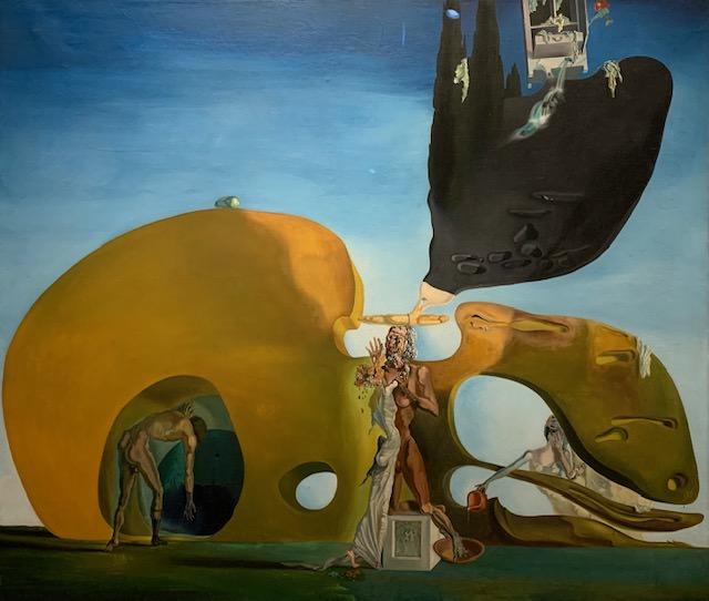 Exposición Magritte-Dalí en Bruselas, diciembre 2019