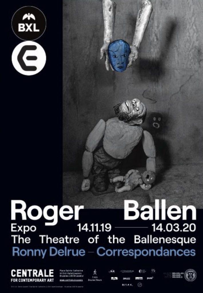 Cartel exposición Rogel Ballen en bruselas, diciembre 2019