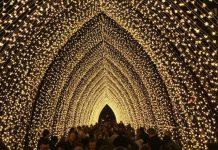 Bright Brussels capilla luminosa
