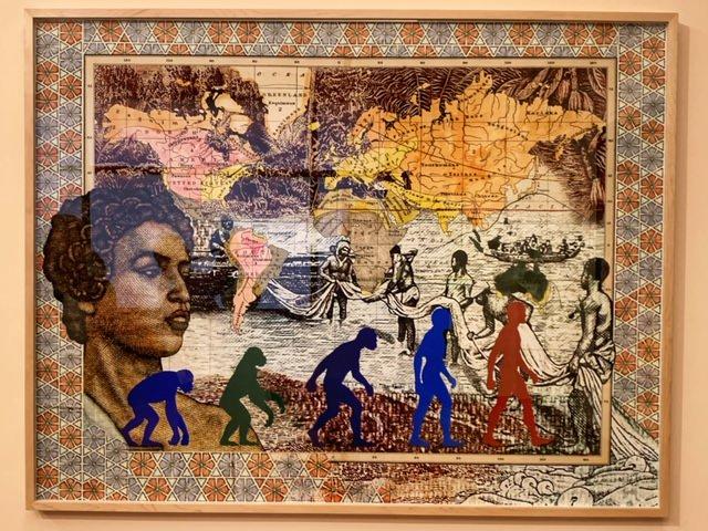 Mappa Mundi con monos