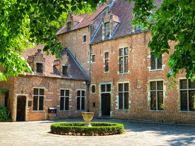 Casa de Erasmo, el humanista europeo