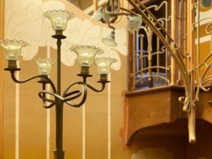 Museo Horta lampara tragaluz