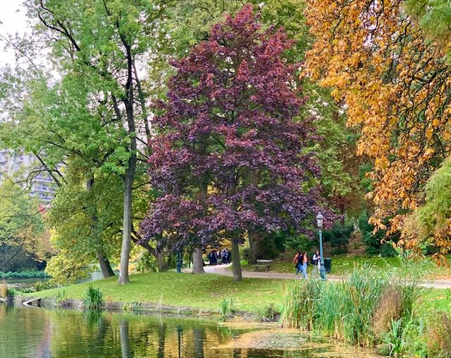 Los parque y jardines más bonitos de Bruselas Parque Leopoldo