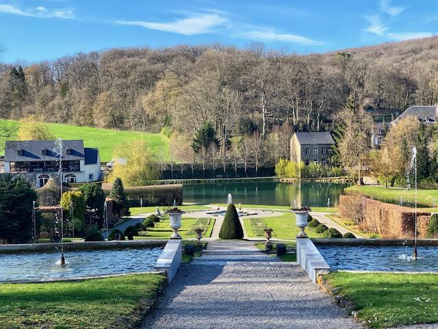 Los románticos Jardines de agua de Annevoie