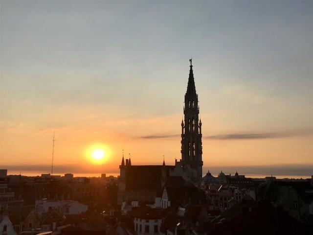 Rooftop más bonitos de Bruselas