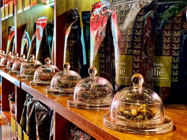 Univers du thé, tés de lujo en la plaza más elegante de Bruselas